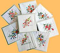 Носовые платочки женские в отдельной упаковке каждый