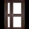 Двери Корфад Milano ML-06  орех, дуб грей, беленый дуб