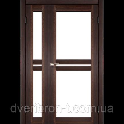 Двери Корфад Milano ML-06  орех, дуб грей, беленый дуб, фото 2