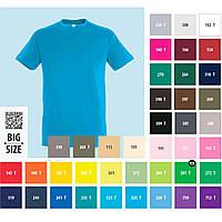 Футболки SOL'S REGENT або GILDAN SoftStyle, 41 цвет, размеры от XS до 3XL под нанесение логотипов, фото 1
