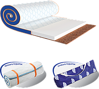 Ортопедический мини-матрас Sleep&Fly Mini Flex 2в1 Kokos