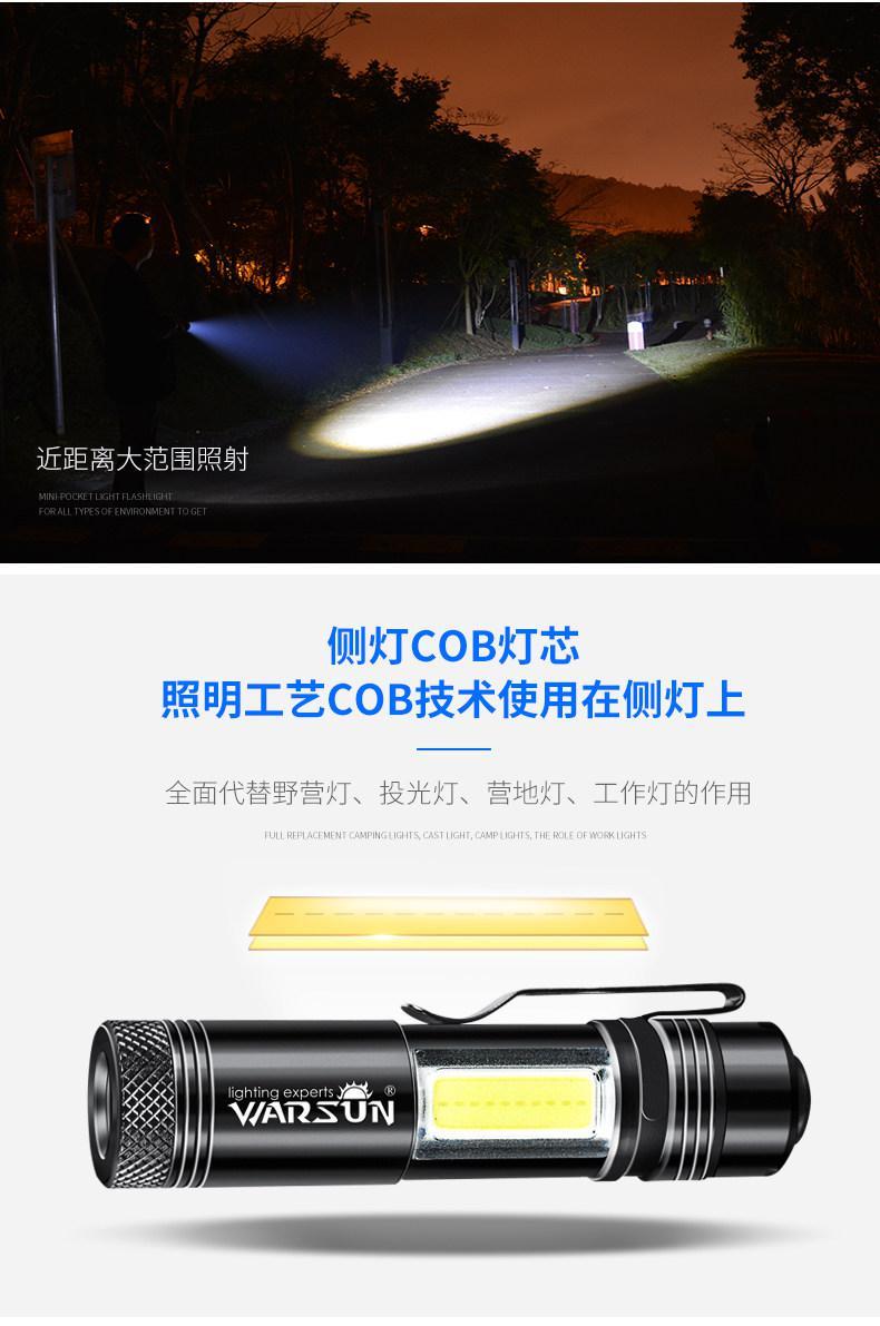 Walson светодиодный фонарик