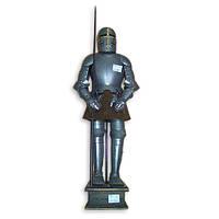 Рыцарские доспехи средневекового рыцаря из металла S702