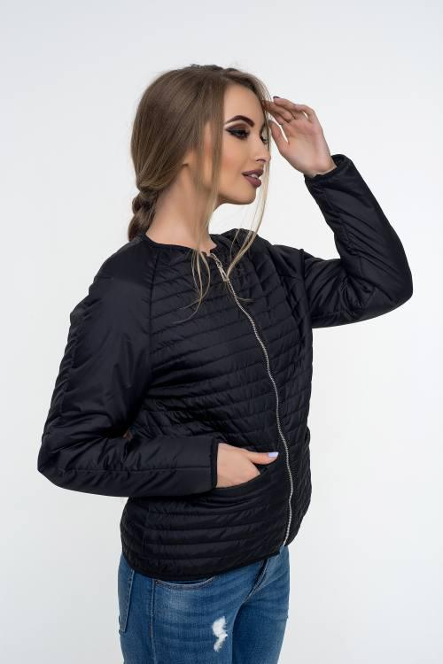 979cc305e15 Женская куртка осень-весна Дана черный (42-52) - цена 703 грн ...