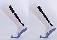 Гетры футбольные мужские LINE, махра, терилен, p-p 40-45, белый (CTM003-1-(wt)), фото 1