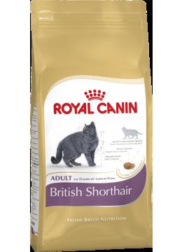 Royal Canin British Shorthair Adult 10 кг сухой корм (Роял Канин) для британских короткошерстных кошек старше 12 месяцев