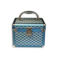 Шкатулка для хранения мелочей большая голубой ромб S8138-3