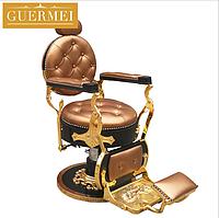 """Мужское парикмахерское кресло """"Guermei Bronze"""", фото 1"""
