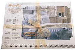 Постельное бельё евро 200*220 сатин люкс (4340) TM KRISPOL Украина, фото 3