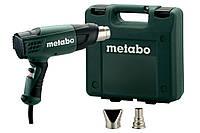 Фен технический 1600 Вт H 16-500 Metabo (1,6 кВт, 450 л, 500 С, кейс, насадки)