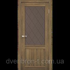 Двери Корфад Classico CL-01  Дуб браш, дуб марсала, эш-вайт.