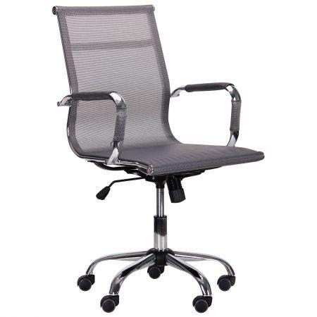 Кресло офисное Slim NET LB, низкая спинка, TM AMF