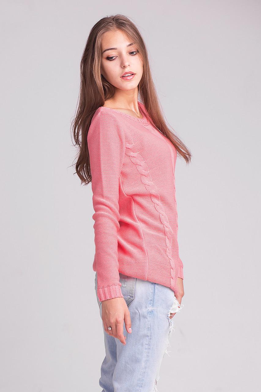 молодежная вязаная кофта розового цвета продажа цена в хмельницком