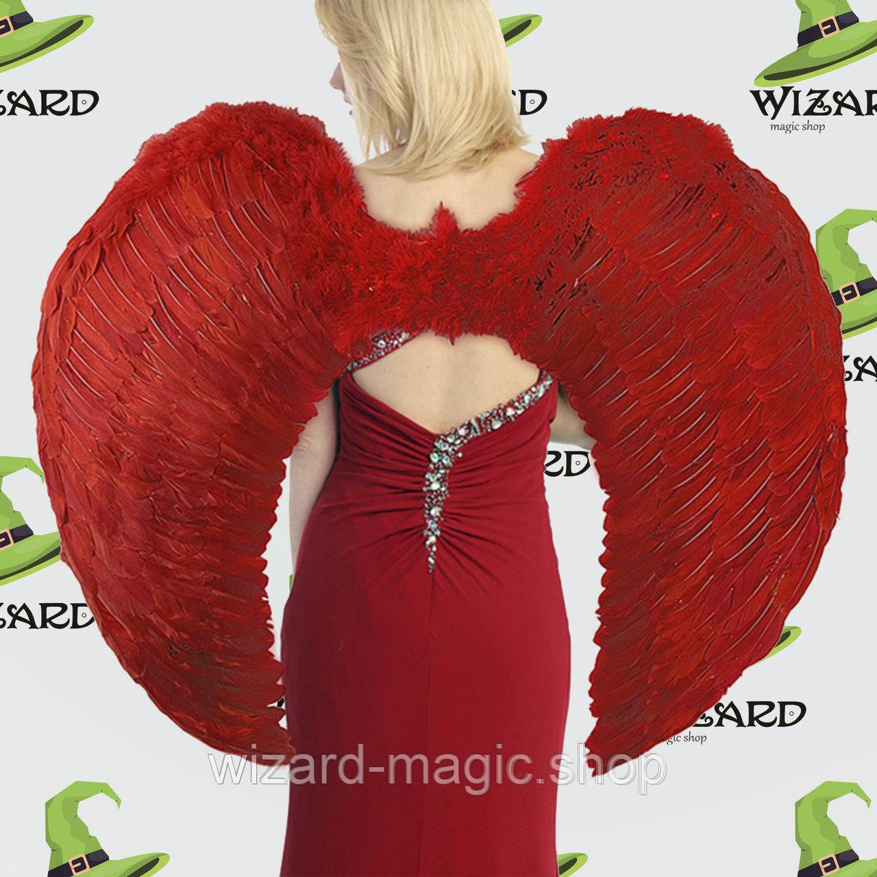 Крылья Ангела Супергигант (80х95см) красные