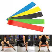 Набор фитнес резинок Latex band (В комплекте 5 штук+мешочек для хранения), фото 3