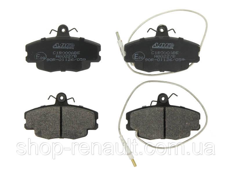 Тормозные колодки передние ABE C1R000ABE LOGAN, SANDERO;RENAULT CLIO I