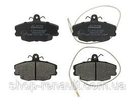 Гальмівні колодки передні ABE C1R000ABE LOGAN, SANDERO;RENAULT CLIO I