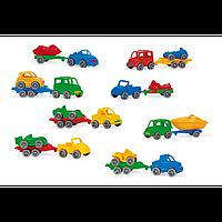 Авто с прицепом в коробочке арт. 52600
