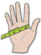 Размеры перчаток