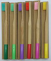 Бамбуковая зубная щетка (1 шт), фото 1