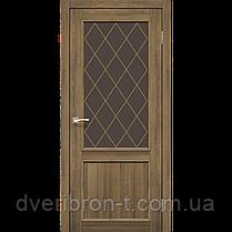 Двери Корфад Classico CL-03  Дуб браш, дуб марсала, эш-вайт., фото 2