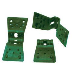 Клипса Plastic clips 35мм