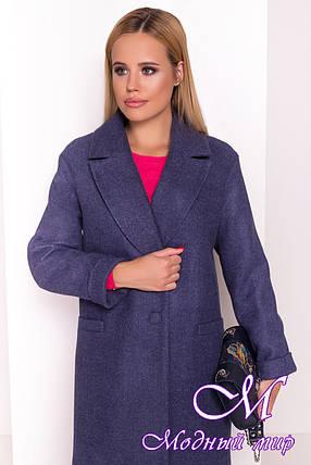 Женское демисезонное пальто из кашемира (р. S, M, L) арт. Вива 4558 - 37263, фото 2