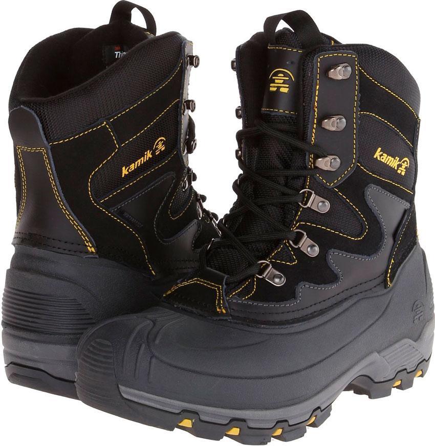 Ботинки зимние Kamik Black Jack -30°