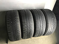 Шины бу зима 225/55R17 Michelin Alpin 4шт (4,5-5,5мм)
