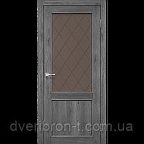 Двери Корфад Classico CL-03  Дуб браш, дуб марсала, эш-вайт., фото 3