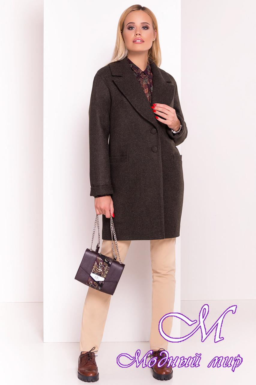 Женское осеннее кашемировое пальто (р. S, M, L) арт. Вива 4558 - 37264