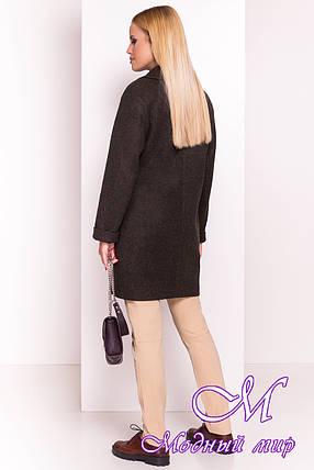 Женское осеннее кашемировое пальто (р. S, M, L) арт. Вива 4558 - 37264, фото 2