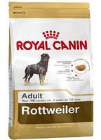 Сухой корм (Роял Канин) Royal Canin Rottweiler Adult 3 кг для собак породы ротвейлер в возрасте старше 18 месяцев