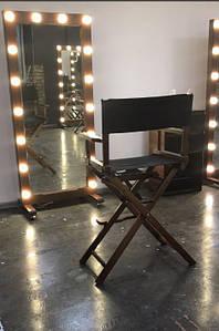 Зеркало с подсветкой, зеркало в деревянной раме