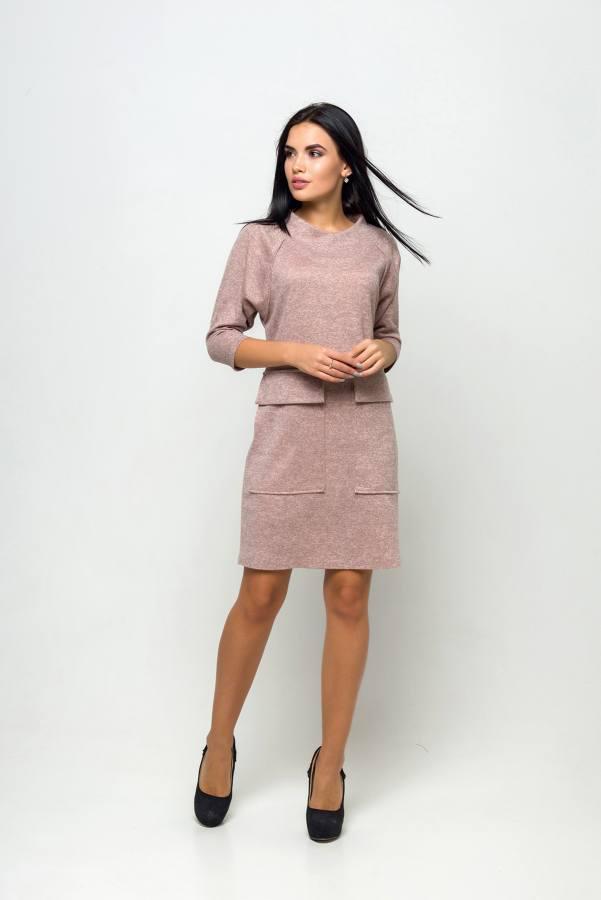 Молодежное платье Джорджия пудра
