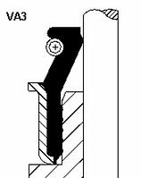 Набор сальников клапанов (12 шт) Ивеко/Iveco Victor Reinz 12-40217-01