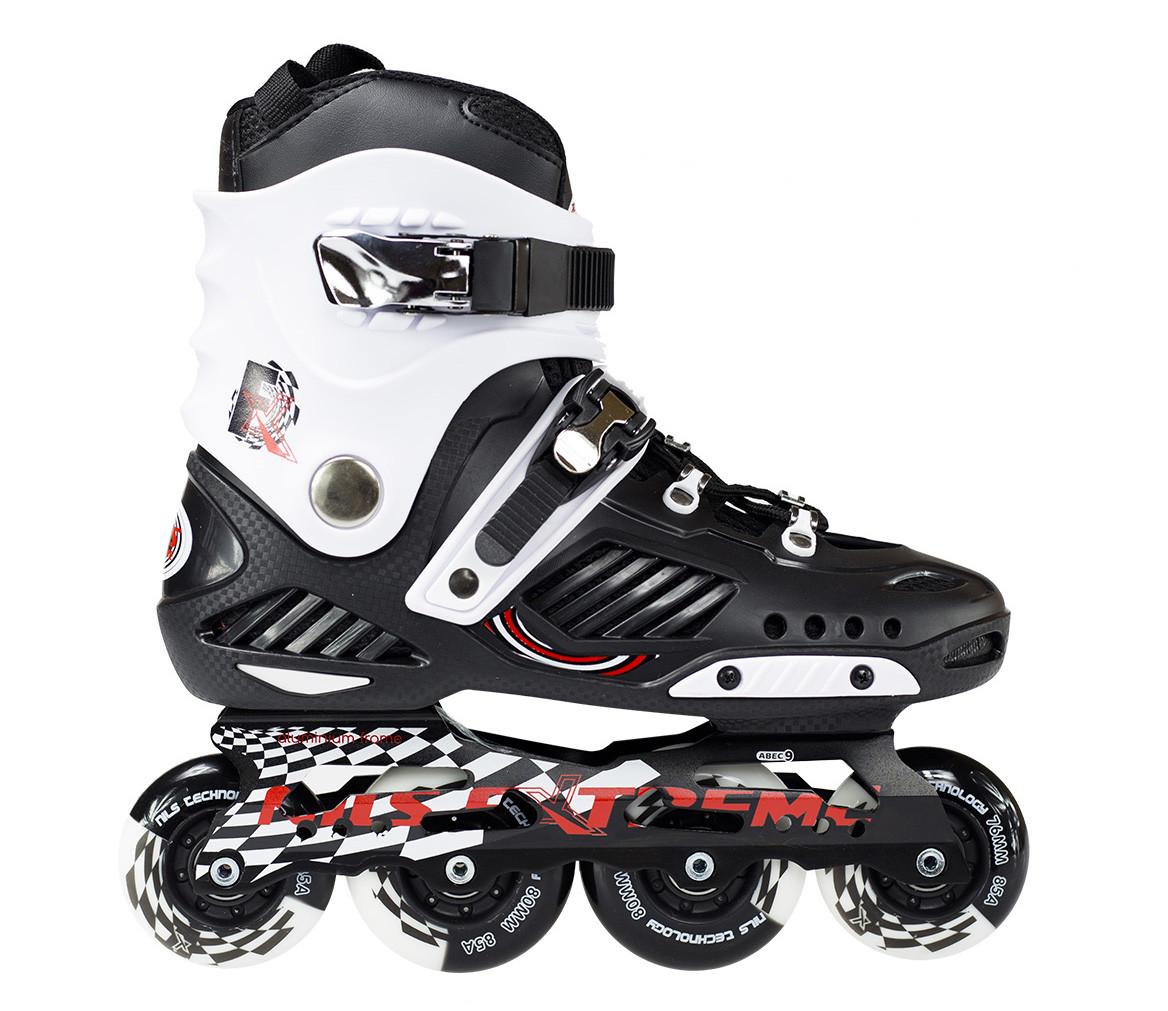 Роликовые коньки Nils Extreme NA12333 Size 42 Black/White