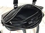 Чоловіча сумка-портфель Polo для документів формат А4. Стильні мужчкие сумки. Чоловіча якісна сумка., фото 8