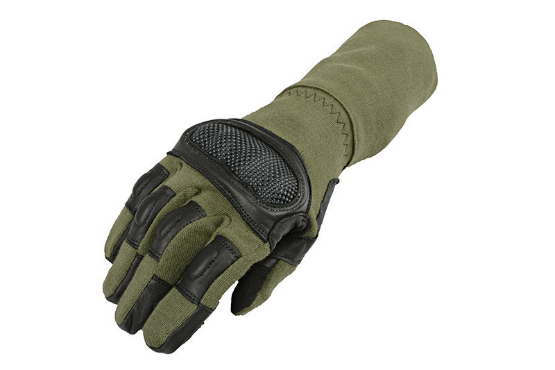 Тактичні рукавиці Armored Claw Breacher OD Size XL
