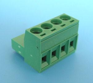 ETB41040G000 Клемник розривною 4 контакту на провід, 300В 10A крок-5,08 мм