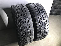 Шины бу зима 225/55R17 Bridgestone Blizzak LM-32 2шт (6-6,5мм)