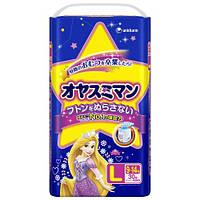 Moony подгузники – трусики ночные L  (9-13) кг, 30 шт. для девочки