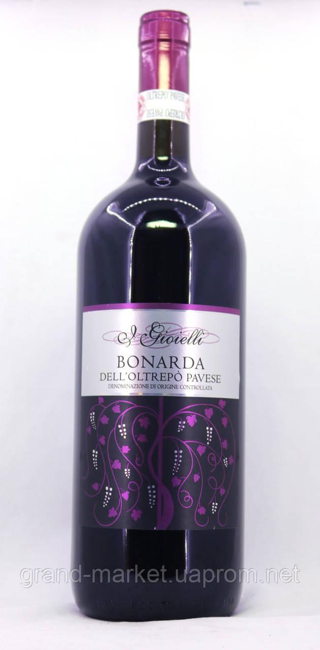 Вино J Gioielli Bonarda Dell`Oltrepo Pavese 1.5l