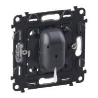 Переключатель на два направления со шнуром 10AX - 250 В~ Valena™ In'Matic - с безвинтовыми зажимами