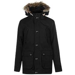 Мужская куртка парка SoulCal черная оригинал