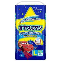 Moony подгузники – трусики ночные L (9-13) кг, 30 шт. для мальчика