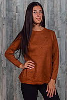 Женский свитер вязка. 7488. Размер 46-50.