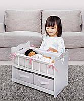 Деревянная кроватка для куклы