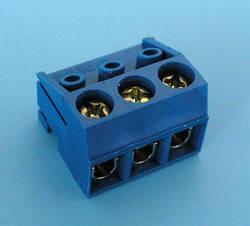 ETB1603 Клеммник 3 контакта, провод-плата, 300В 10А шаг 5,0мм
