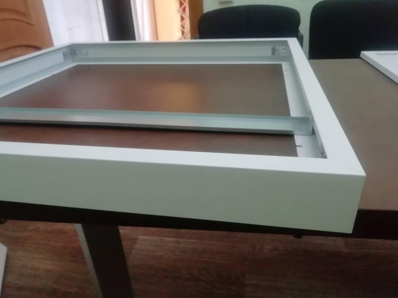 """Рамка  """"Clarus"""" для накладного монтажа LED панелей 600х600"""